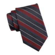 Collection by Michael Strahan Striped Silk Tie