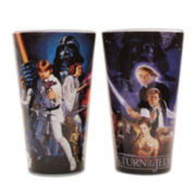 Star Wars™ 2-pc. Cast Action Shots Pint Glass Set