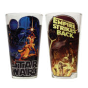 Star Wars™ 2-pc. Posters Pint Glass Set