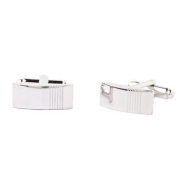 jcpenney.com | Collection By Michael Strahan Rhodium-Plated Cuff Links