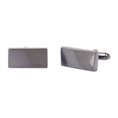jcpenney.com | Collection By Michael Strahan Warped Rectangular Cuff Links
