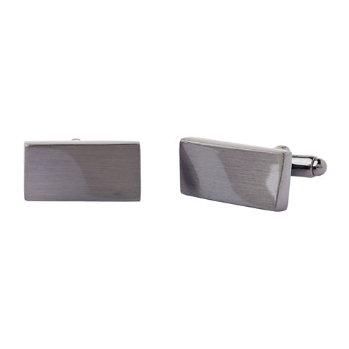 Collection By Michael Strahan Warped Rectangular Cuff Links