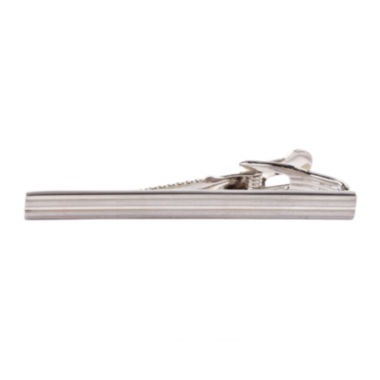 jcpenney.com | Collection by Michael Strahan Rhodium-Plated Tie Bar