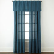 JCPenney Home™ Cotton Classics Rod-Pocket Window Treatments