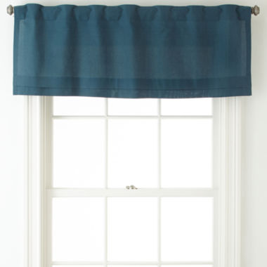 jcpenney.com | JCPenney Home™ Cotton Classics Rod-Pocket/Back-Tab Pleated Valance
