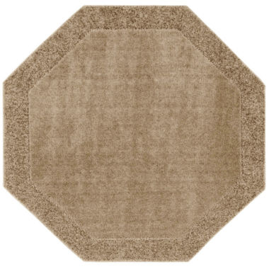 jcpenney.com | JCPenney Home™ Shag Border Washable Octagonal Rug