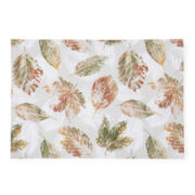 Bardwil Set of 4 Harvest Leaf Placemats