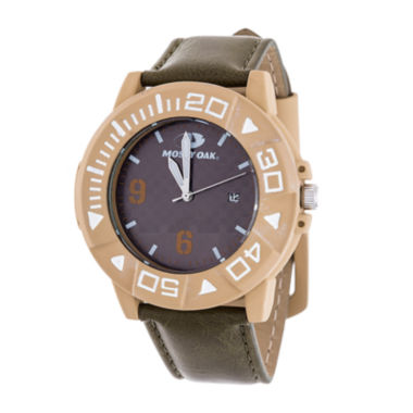 jcpenney.com | Mossy Oak Mens Brown Bracelet Watch-Mow080be-Ol