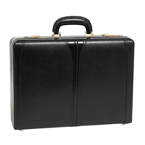 "McKleinUSA Turner Leather 4.5"" Expandable Attaché Briefcase"