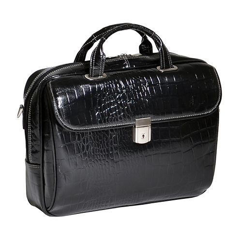 "McKleinUSA Ignoto 15.6"" Leather Large Laptop Briefcase"