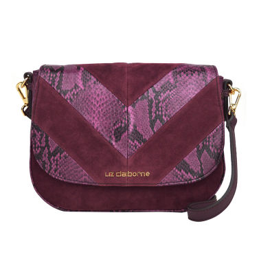 jcpenney.com | Liz Claiborne Alanis Flap Saddle Crossbody Bag