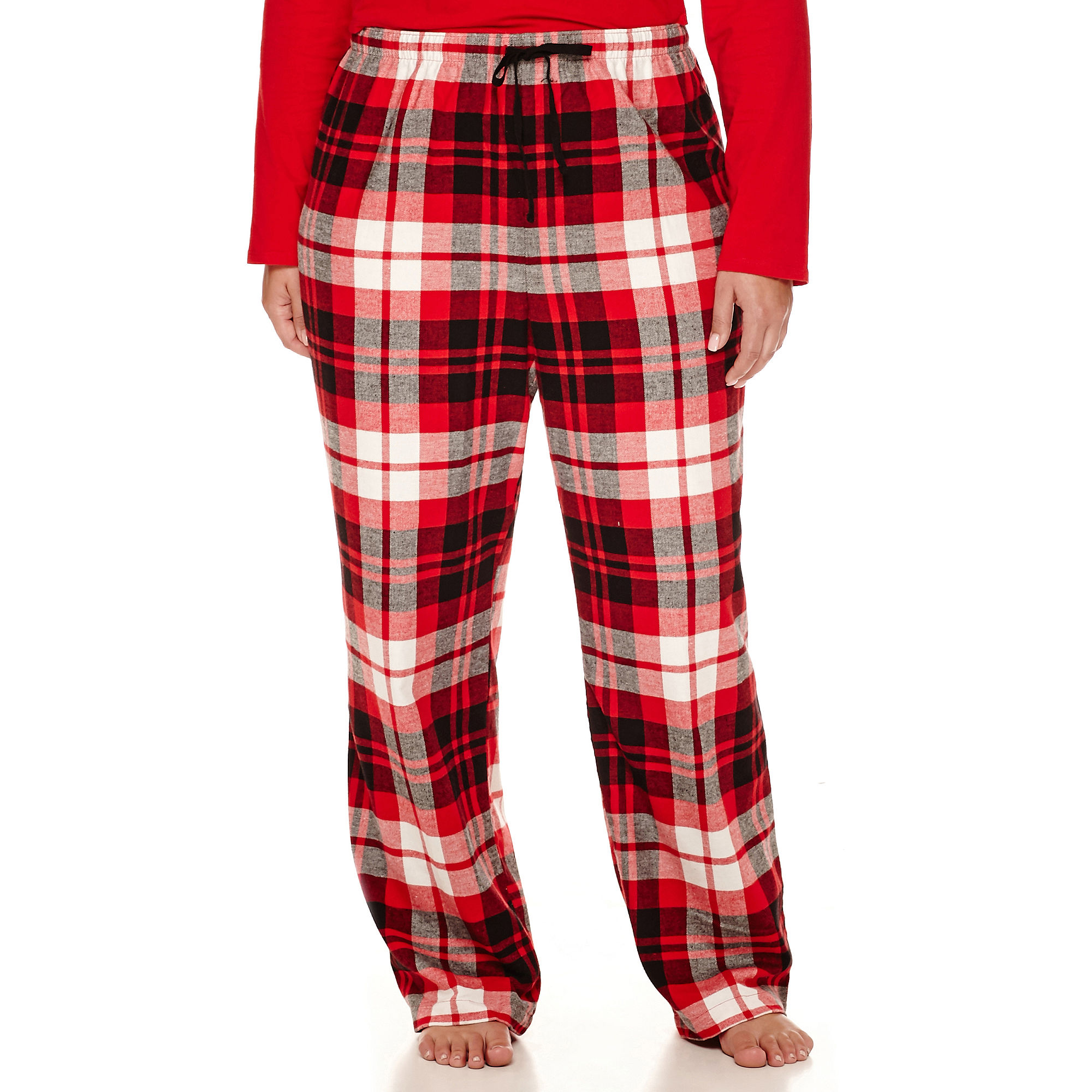 North Pole Trading Co Family Flannel Pajama Pants-Plus plus size,  plus size fashion plus size appare