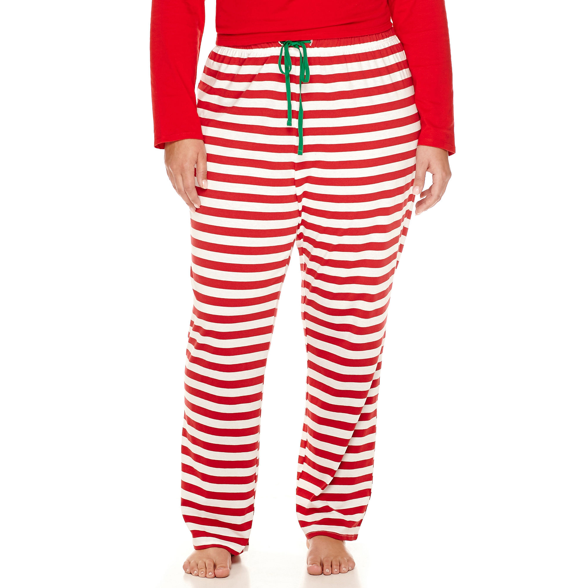 North Pole Trading Co Family Knit Pajama Pants-Plus plus size,  plus size fashion plus size appare