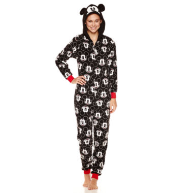 jcpenney.com | Disney Mickey Mouse Long Sleeve One Piece Pajama