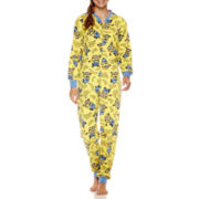 Minons Long Sleeve One Piece Pajamas