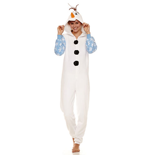 Disney Frozen Long Sleeve One Piece Pajama