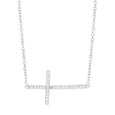 jcpenney.com | 1/7 CT. T.W. White Diamond 14K Statement Necklace