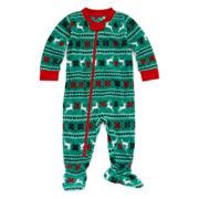 North Pole Trading Co Family Pajamas Unisex Long Sleeve One Piece Pajamas