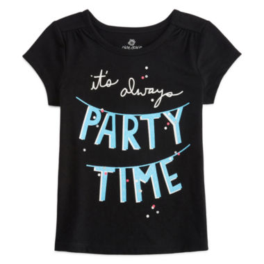 jcpenney.com | Okie Dokie Girls Graphic T-Shirt-Toddler