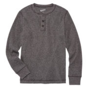Arizona Long Sleeve Henley Shirt - Big Kid