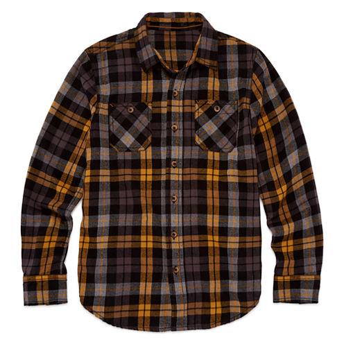 Arizona Long-Sleeve Flannel Shirt - Boys 8-20 and Husky