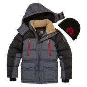 Weatherproof Boys Heavyweight Parka-Big Kid
