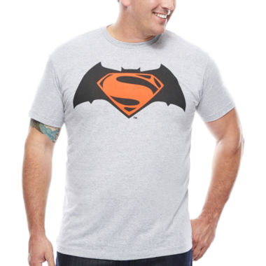 jcpenney.com | Bioworld® Dawn Of Justice Superman Graphic Tee - Big & Tall