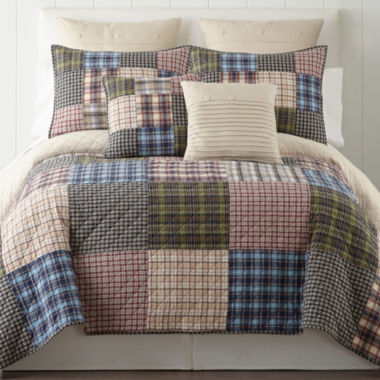 jcpenney.com | Home Expressions Loden Reversible Quilt & Accessories