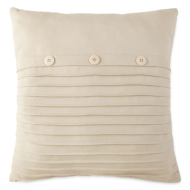 jcpenney.com | Home Expressions Loden Pleated Square Decorative Pillow