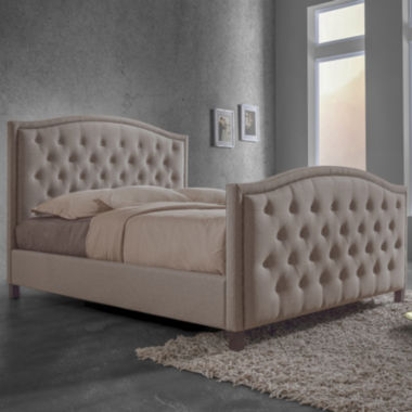 jcpenney.com | Baxton Studio Fawner Contemporary Upholstered Arched Platform Bed