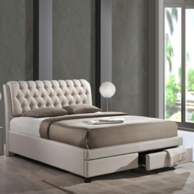 jcpenney.com | Baxton Studio Ainge Contemporary Button-Tufted Upholstered Storage Bed