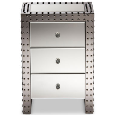 jcpenney.com | Baxton Studio Azura Hollywood Regency Nightstand