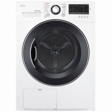 "jcpenney.com | LG 4.2 cu.ft. 24"" Electric Dryer with Compact Front LED display and Ventless condensing system"