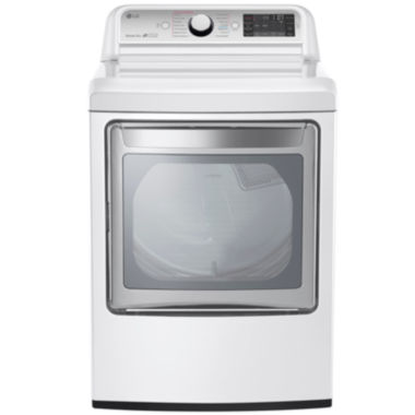 jcpenney.com | LG 7.3 Cu.Ft. Ultra-Large Electric TurboSteam™ Dryer with SteamSanitary™