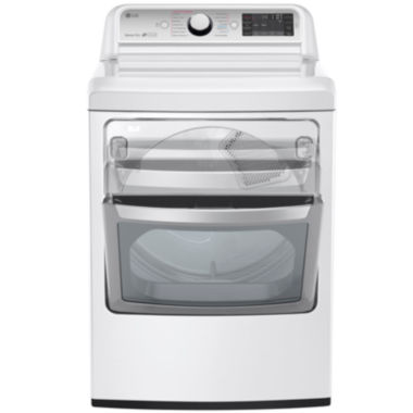 jcpenney.com | LG 7.3 Cu.Ft. Ultra-Large Gas TurboSteam™ Dryer with SteamSanitary™