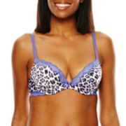 Ambrielle® Sensual Stripe Push Up Bra