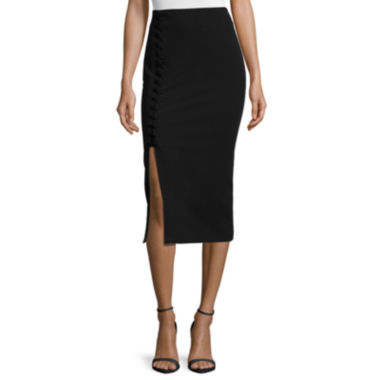 jcpenney.com | Worthington® Side Lace-Up Pencil Skirt - Tall