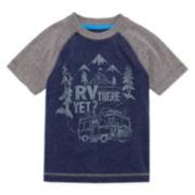 Arizona Short-Sleeve Raglan Tee - Toddler Boys 2t-5t
