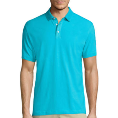 jcpenney.com | Claiborne® Short-Sleeve Stretch Polo