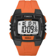 Timex® Mens Expedition Orange Chronograph Watch