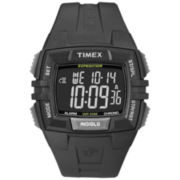 Timex® Mens Expedition Black Chronograph Watch