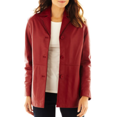 jcpenney.com | Excelled Button-Front Jacket