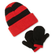 Carter's® Hat and Mitten Set - Boys 12m-24m