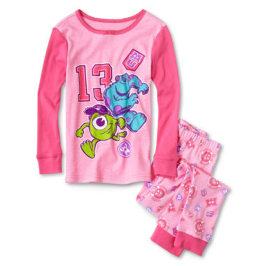 jcpenney.com | Disney Collection 2-pc. Monsters University Pajamas - Girls 2-10