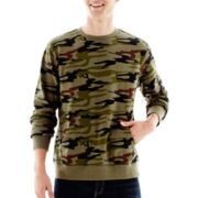 Ocean Current Camo Fleece Pullover