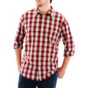 The Foundry Supply Co.™ Vintage Plaid Shirt–Big & Tall