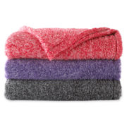 Heathered Plush Throw