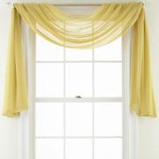 MarthaWindow™ Airy Sheer Window Scarf Valance