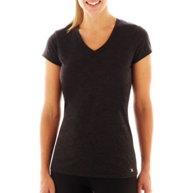 jcpenney.com | Xersion™ Quick-Dri Short-Sleeve Melange T-Shirt