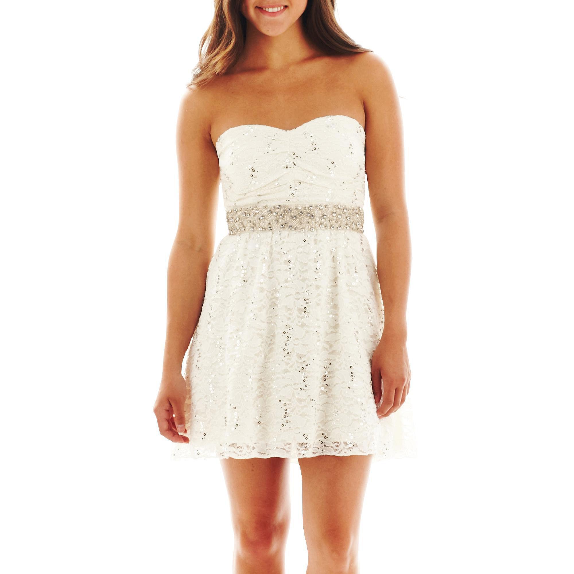 9fcb7b7323b9 My Michelle Sequin Lace Dress